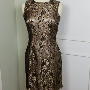 Vintage 90s grunge sleevless lace party dress
